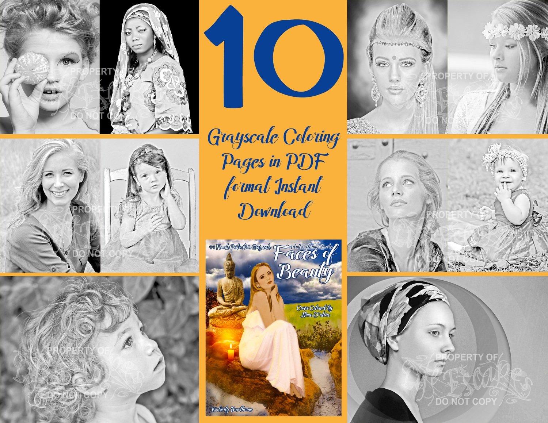 Faces of Beauty Sampler Digital Download