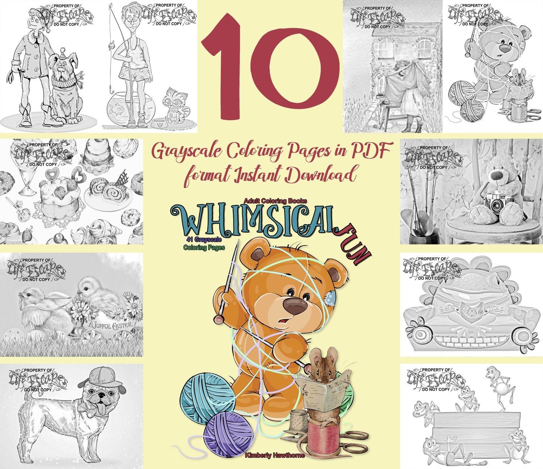 Whimsical Fun Sampler Pack Digital Download