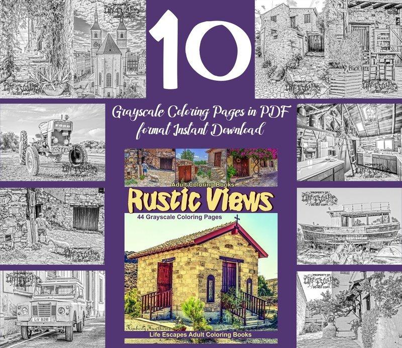 Rustic Views Sampler Pack Digital Download