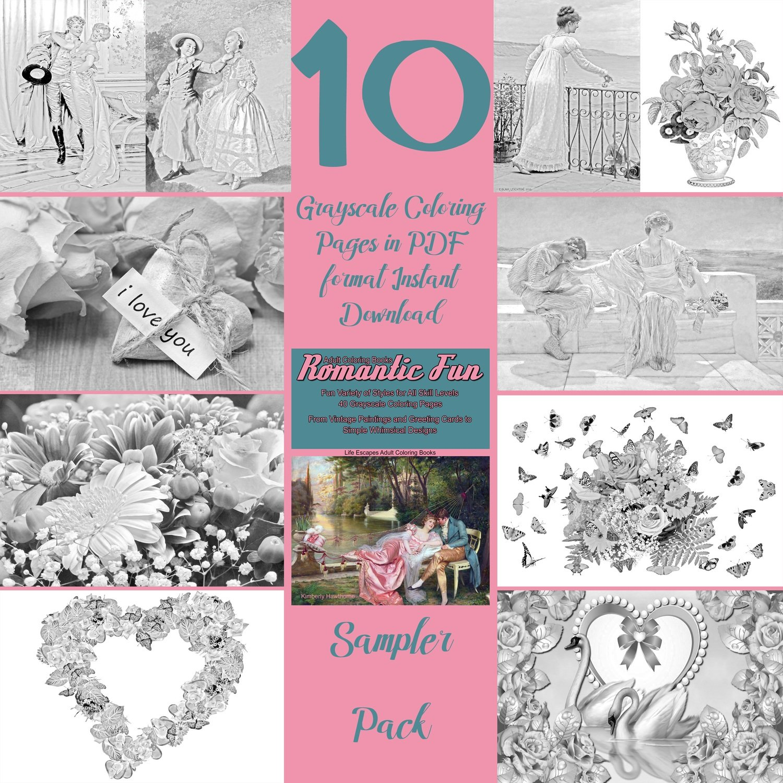 Romantic Fun Sampler Pack Digital Download