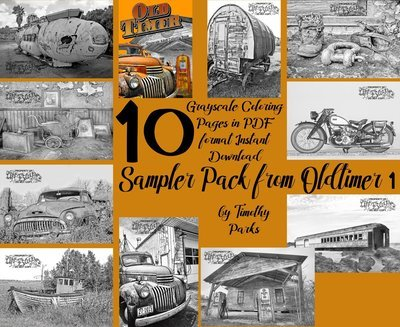 Oldtimer 1 Sampler Pack Digital Download