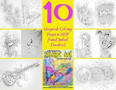 Splashy Art 1 Sampler Pack Digital Download