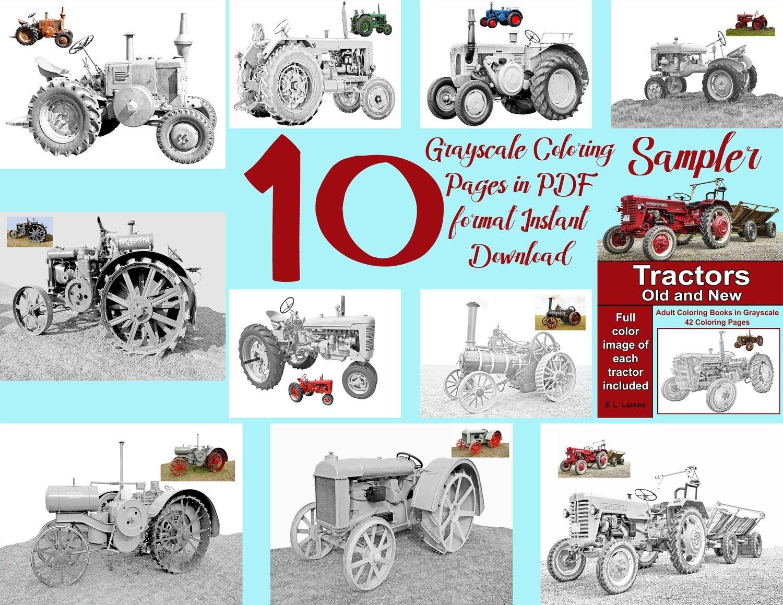 Tractors Sampler Pack Digital Download