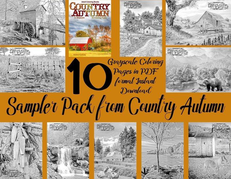 Country Autumn Sampler Pack Digital Download