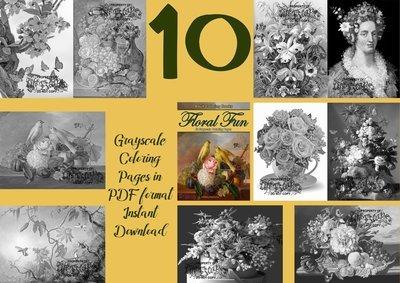 Floral Fun 1 Sampler Pack Digital Download
