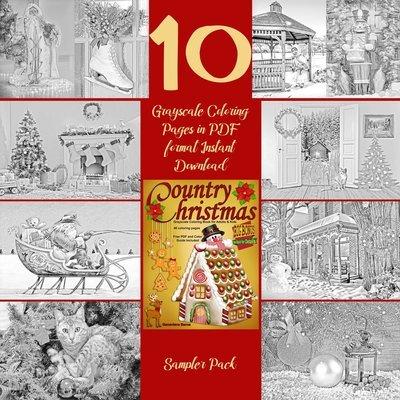 Country Christmas Sampler Pack Digital Download