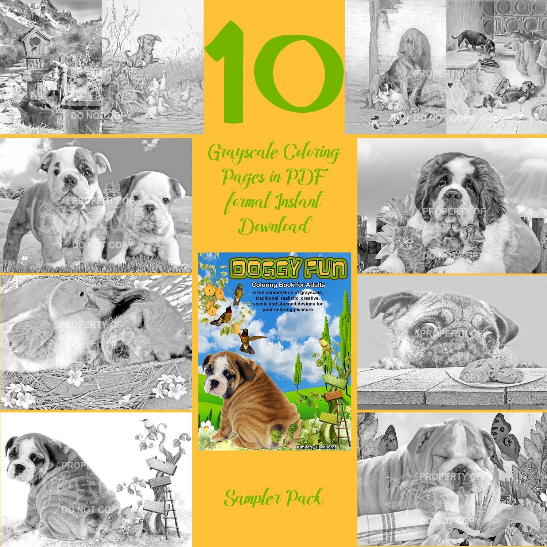 Doggy Fun Sampler Pack Digital Download