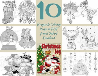 Christmas Joy Sampler Pack Digital Download