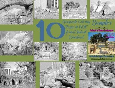 Animals in Nature Sampler Pack Digital Download