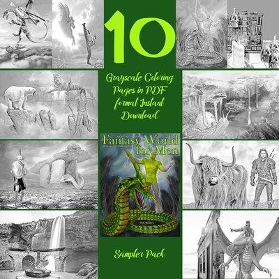 Fantasy World for Men Sampler Pack Digital Download