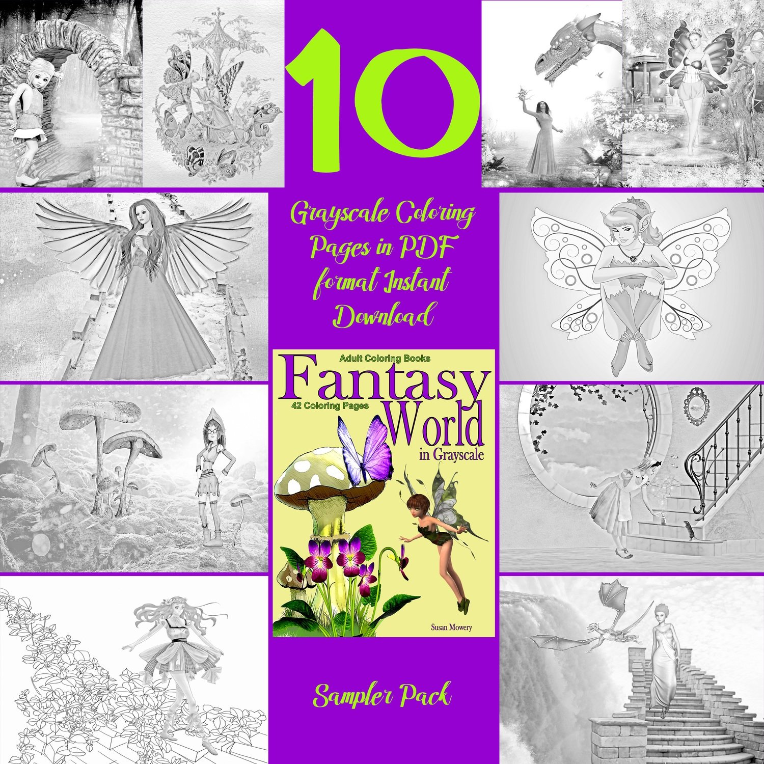 Fantasy World Sampler Pack Digital Download