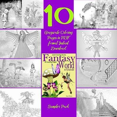 Fantasy World Sampler Pack Digital Download