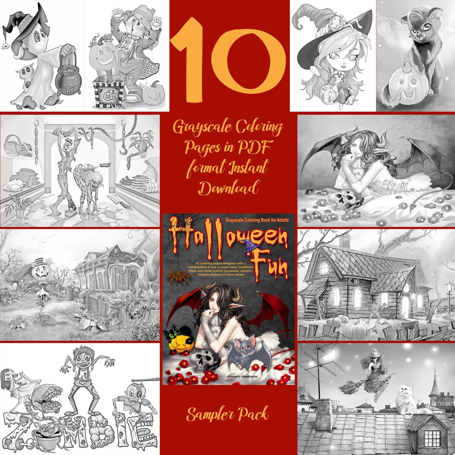 Halloween Fun Sampler Pack Digital Download