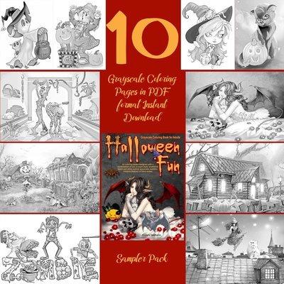 Halloween Fun Sampler Pack Digital Download