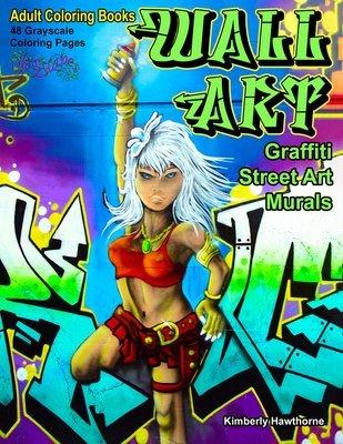 Wall Art Adult Coloring Book Digital Download