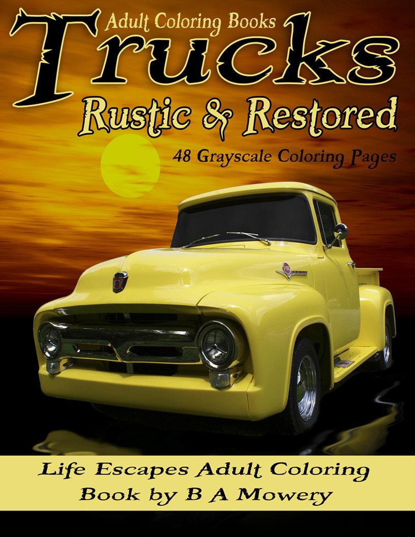 Trucks Rustic & Restored Digital Download
