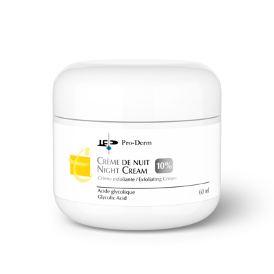 Night Cream 10 (Glycolic 10%)