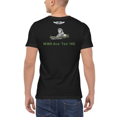 P40 Tex Hill WWII Ace  Unisex Pocket T-Shirt