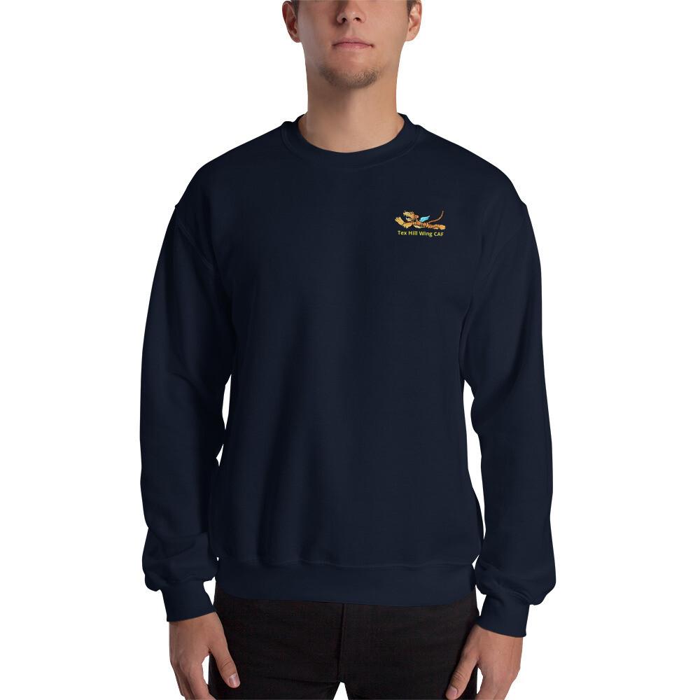 Flying Tiger Tex Hill Wing CAF Unisex Sweatshirt