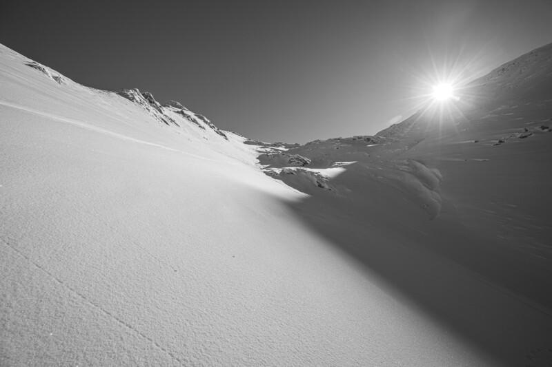 Pic du Cabaliros Noir et Blanc