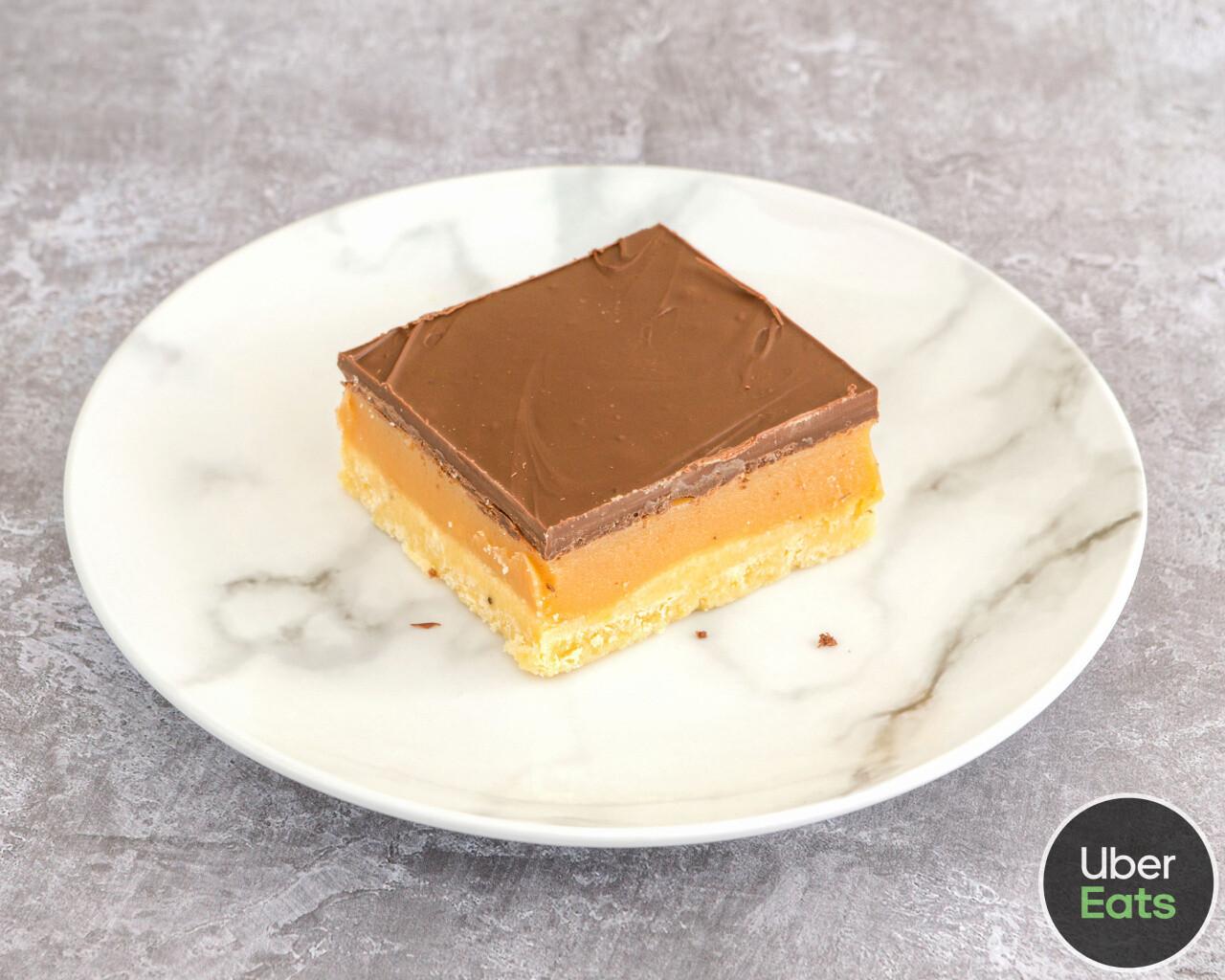 Millionaires Shortbread Slice