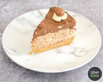 Malteaser Cheesecake Slice