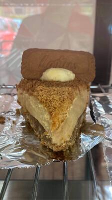 Lotus Biscoff Cheesecake Slice