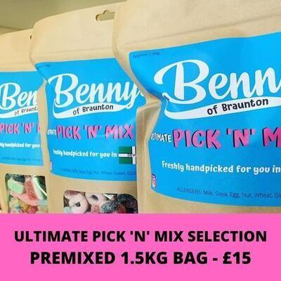 Bennys Mixed Sweet Bag
