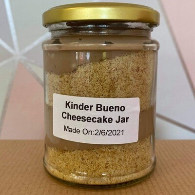 Kinder Bueno Jar