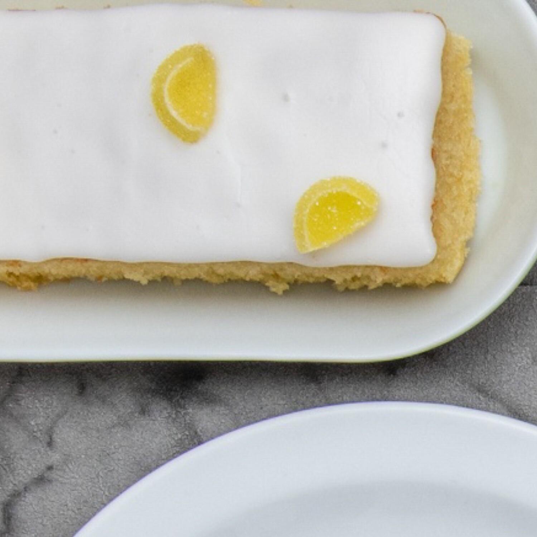 Lemon Cake Bar