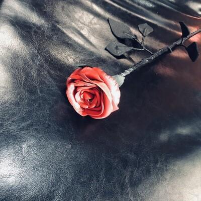 Роза красная 002