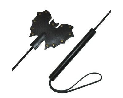 Стек Летучая мышь из лаковой кожи 62 см
