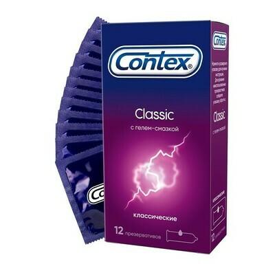 Презерватив Contex №12 Classic (силикон.смазка)