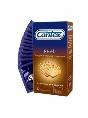 Презерватив Contex №12 Relief (рельефные)