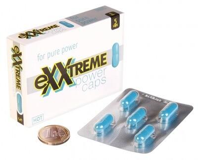 Возбуждающие капсулы Exxtreme power caps 5шт.
