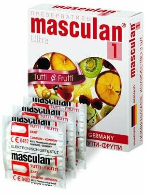 Презерватив Masculan-1 Ultra №3 Тутти-Фрутти
