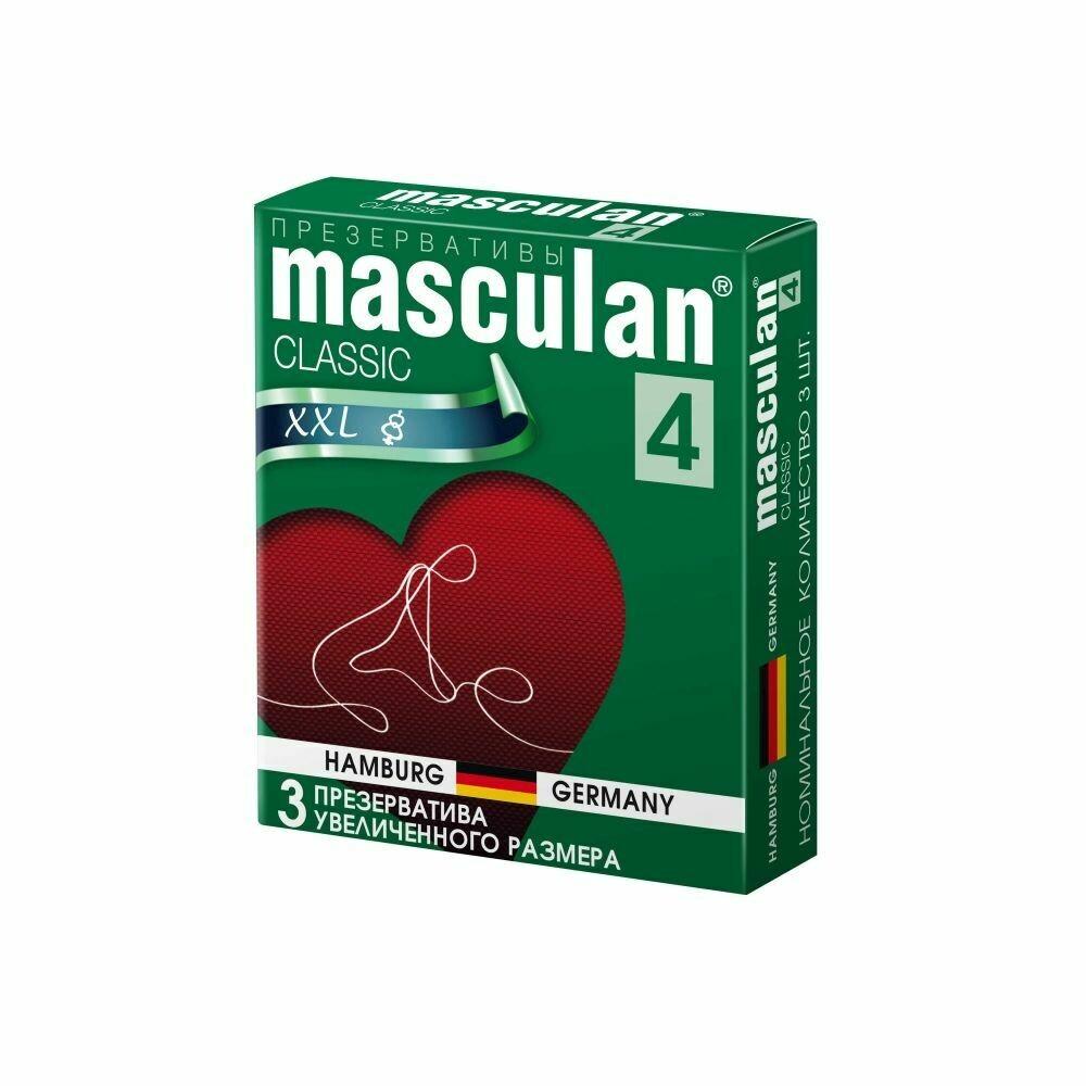 Презерватив Masculan-4 Classic №3 XXL (увелич. размера)