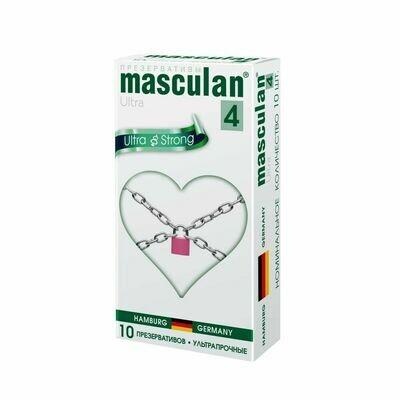 Презерватив Masculan-4 Ultra №10 Ультрапрочные
