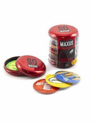 Презервативы MAXUS Sensitive (ультратонкие) №15