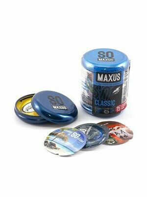 Презервативы MAXUS Classic (классические) №15