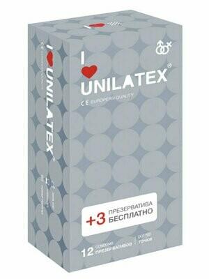 Презервативы Unilatex Dotted (точки) №12