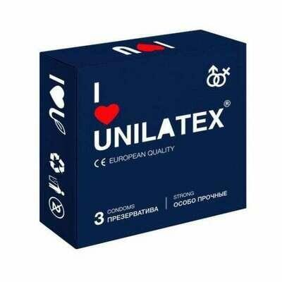 Презервативы Unilatex Extra Strong особо прочные №3