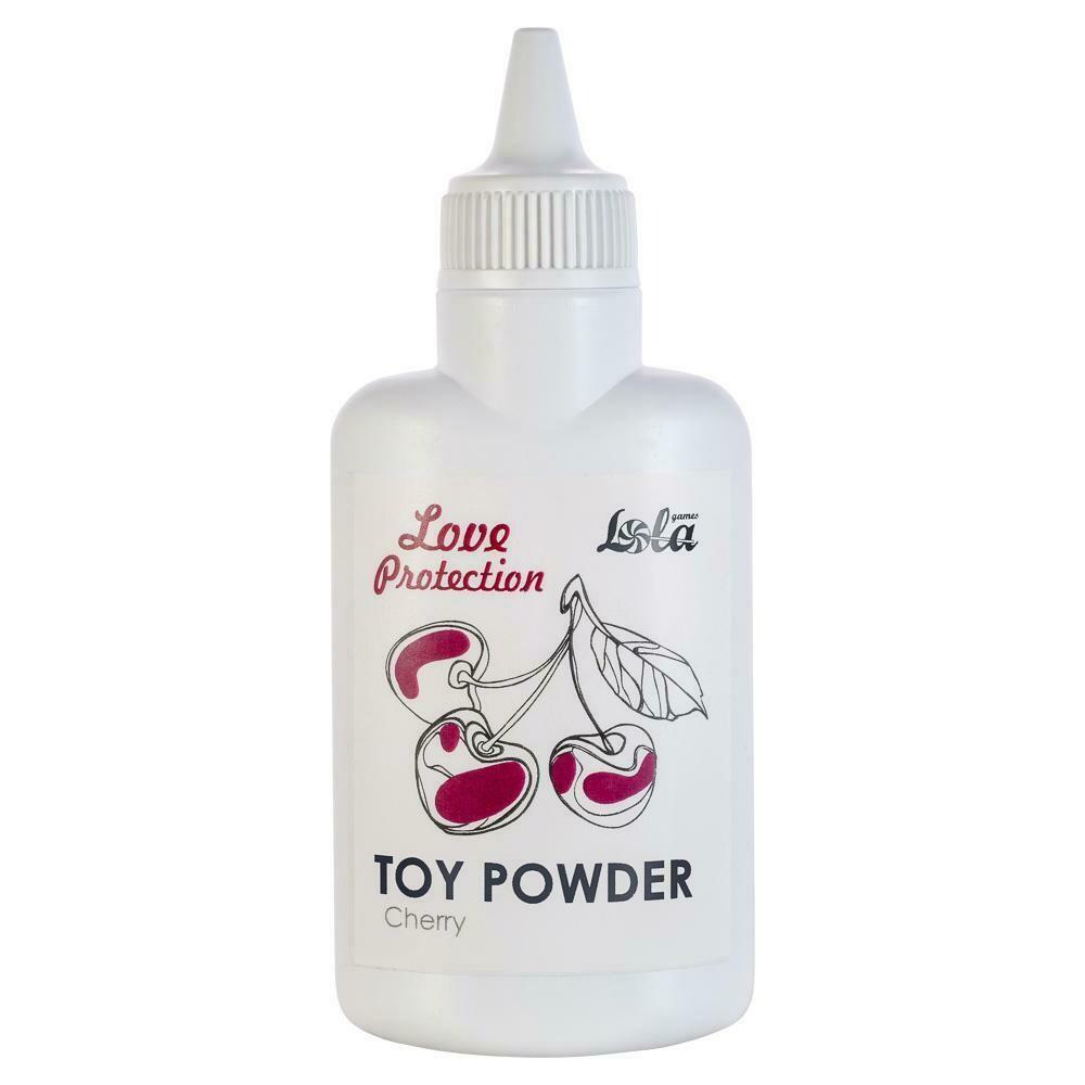 Пудра для игрушек ароматизированная Love Protection Вишня 30гр