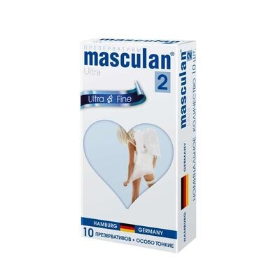 Презерватив Masculan-2 Ultra Fine №10