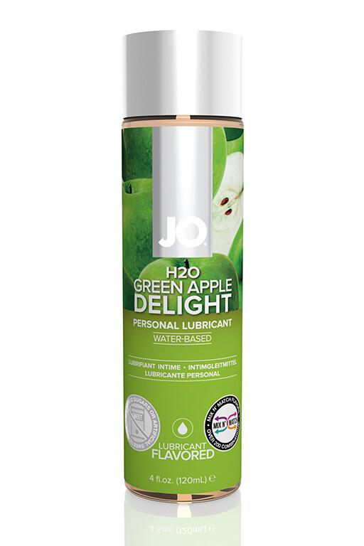 Любрикант JO Flavored Green Apple 120мл