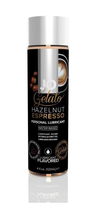 Любрикант JO Gelato Hazelnut Espresso 120мл
