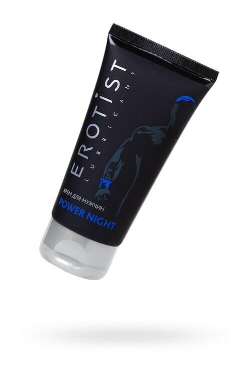 Крем Erotist для мужчин POWER NIGHT, для повышения потенции, 50мл