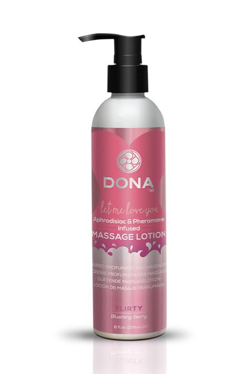 Лосьон Donna Massage Lotion Blushing Berry 235г
