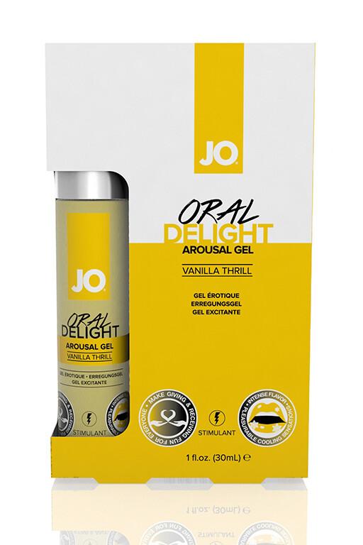 Любрикант JO Oral Delight Vanilla Thrill 30мл