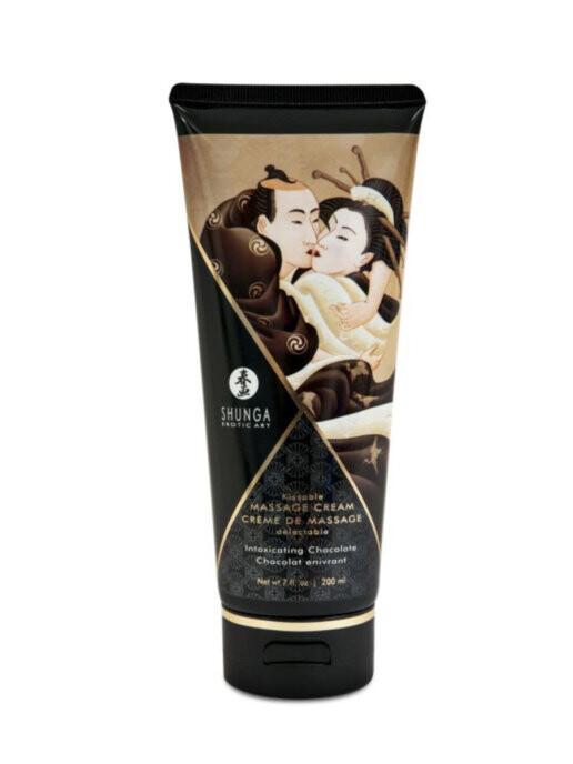 Крем Shunga Kissable Massage Cream Intoxicating Chocolate 200мл